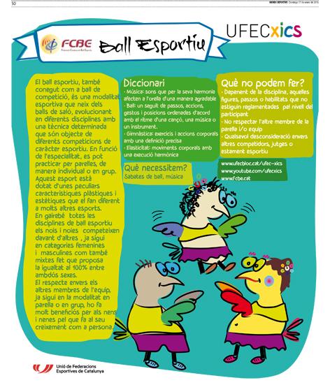 El Ball Esportiu a la premsa - UFECXICS    Federació Catalana de Ball Esportiu