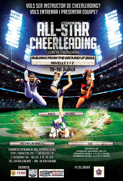 Curs Instructors Cheerleading. Inscripcions  | Federació Catalana de Ball Esportiu