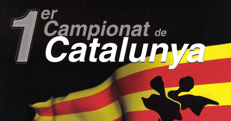 Històric pòsters Campionats de Catalunya