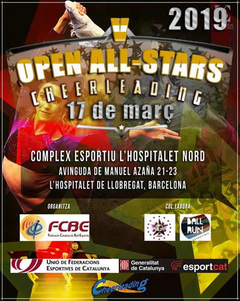 V Open Cheerleading 2019  | Federació Catalana de Ball Esportiu