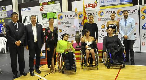 VI Campionats de Catalunya 2014. Wheelchair Combi Latin    Federació Catalana de Ball Esportiu
