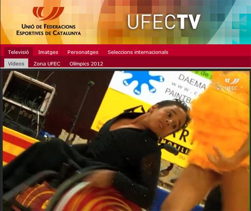 Comunicat 29.- Campionats Catalunya 2012. Zona UFEC - Televisió | Federació Catalana de Ball Esportiu