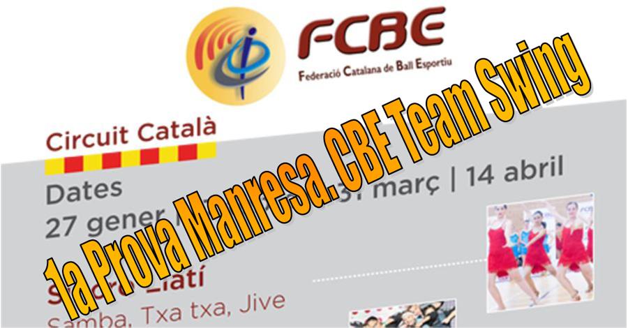 1a Prova Circuit Ball Esportiu Català 2019. Team Swing. Horaris i grups