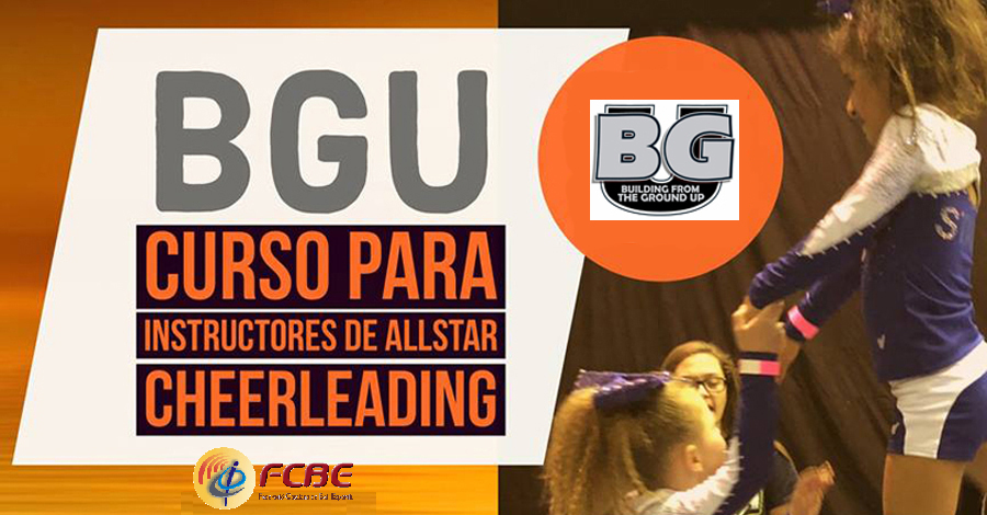Cursos Instructors All Star Cheerleading BGU - FCBE