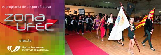 ZONA UFEC - Televisió (IV Campionats de Catalunya de Clubs 2013) | Federació Catalana de Ball Esportiu